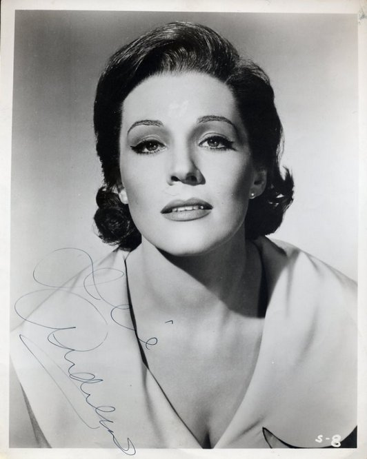Andrews, Julie - Signed vintage original photo <b>SOLD</b>